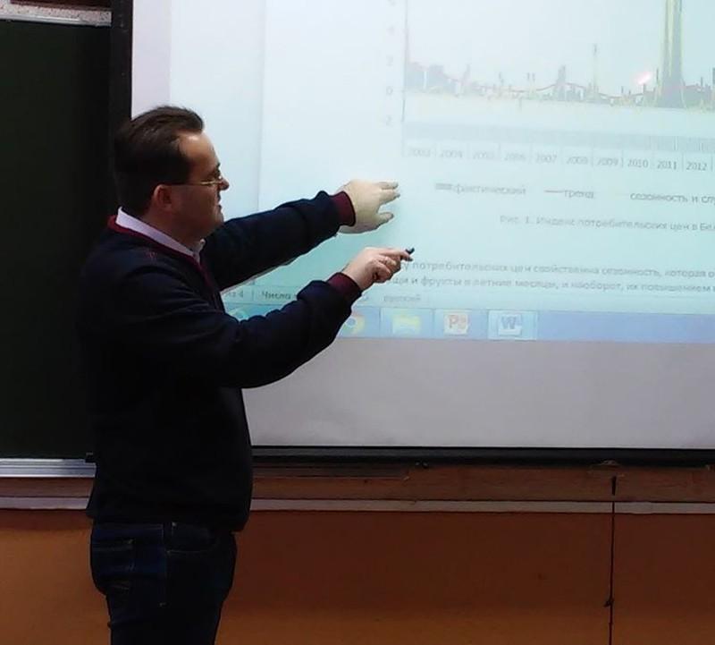 Uladzimir Akulich, the teacher